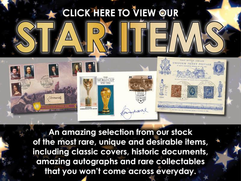 H - Star Items First Day Covers
