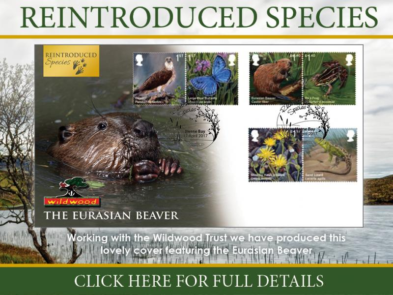 F - Reintroduced Species First Day Covers