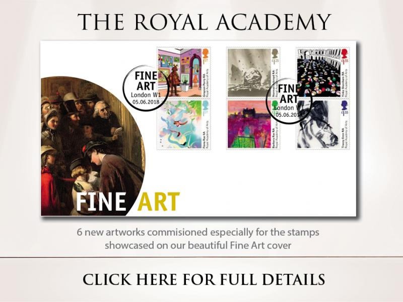E - The Royal Academy of Arts First Day Covers