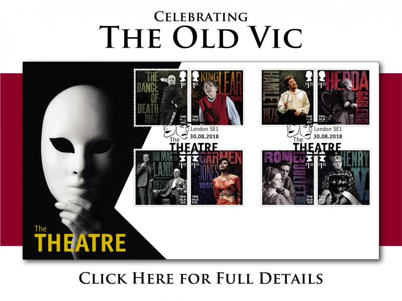 A - The Old Vic First Day Covers