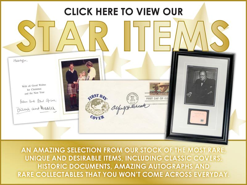 N - Star Items First Day Covers