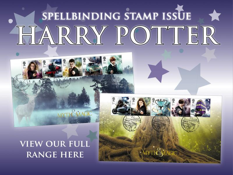 A - Harry Potter First Day Covers