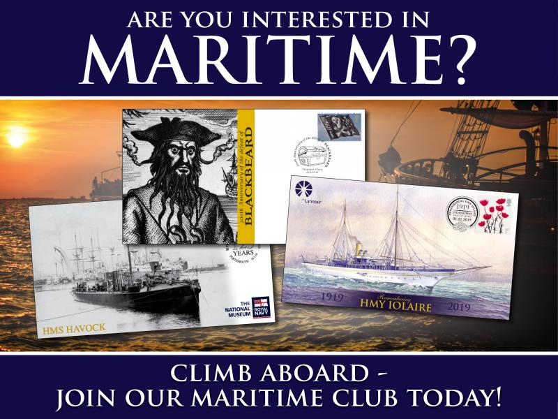 F - Maritime Club First Day Covers