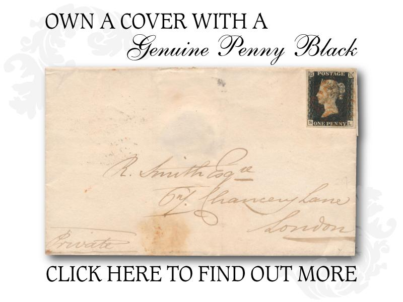 G- Penny Black First Day Covers