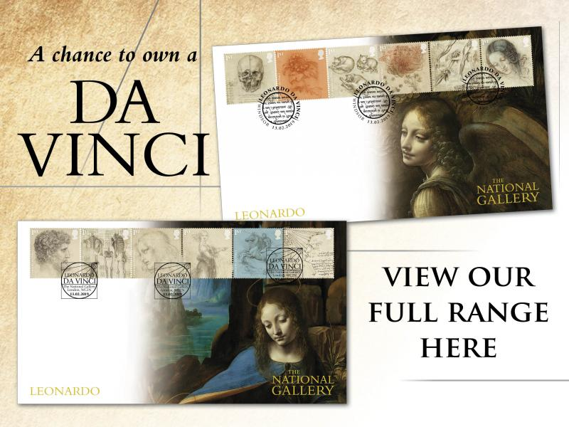 500th Anniversary of the Death of Leonardo da Vinci First Day Covers