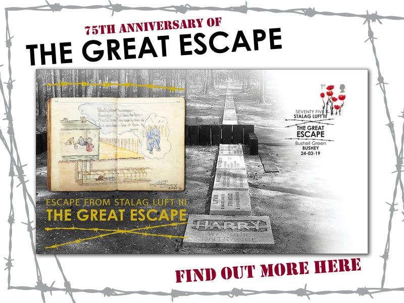 B - The Great Escape First Day Covers