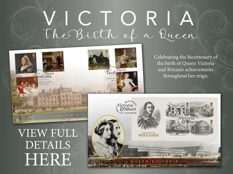 A - Queen Victoria First Day Covers