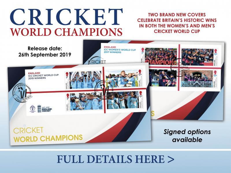 C - Cricket World Cup First Day Covers