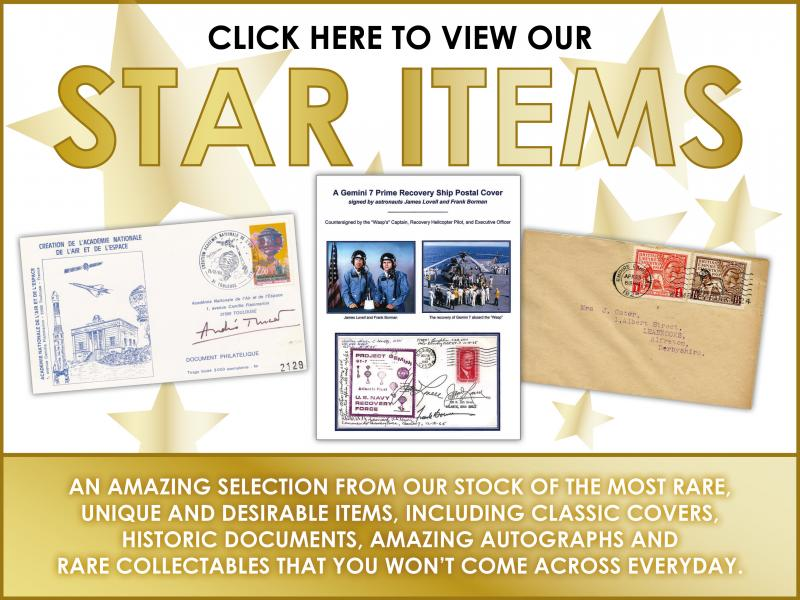 G - Star Items First Day Covers
